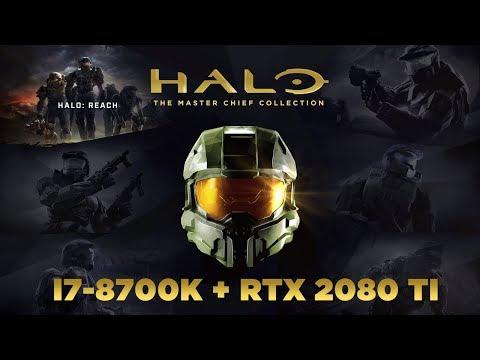 Halo Reach PC Benchmark - Ultra Max Settings - RTX 2080 Ti - i7 8700K! (Halo Reach PC Gameplay)