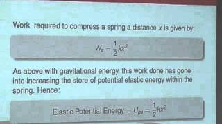 Dynamics 6 - Work and Energy