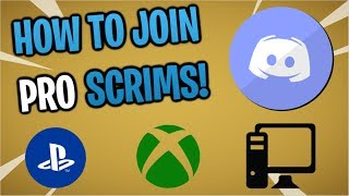 Fortnite: How To Join Pro Scrims! ( Pc & Console! )