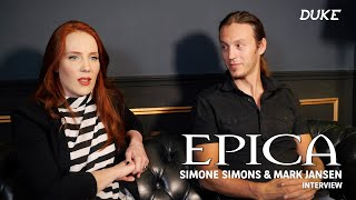 Epica - Interview Simone Simons & Mark Jansen - Paris 2016