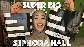 Video SUPER BIG SEPHORA HAUL | MakeupbyFatya MP3, 3GP, MP4, WEBM, AVI, FLV Desember 2018