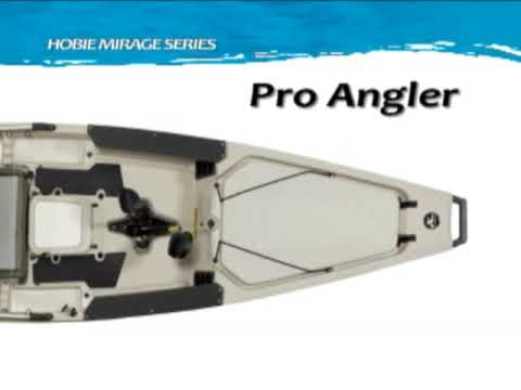 Hobie Mirage Pro Angler Kayak Overview