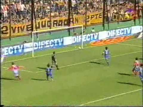Gol de Juan Pablo Caffa a Boca