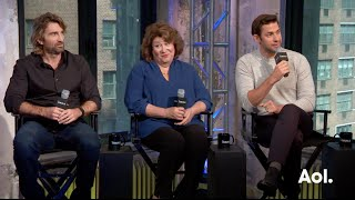 "John Krasinski, Margo Martindale and Sharlto Copley On ""The Hollars"" 