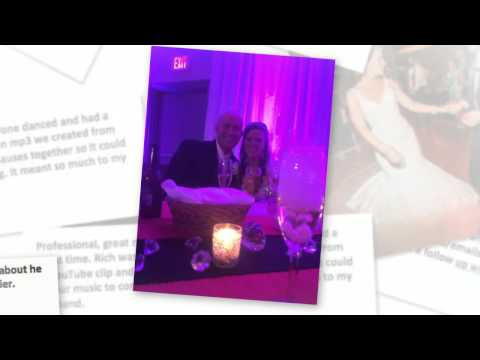 real bride and groom testimonials for Selective Sound Entertainment