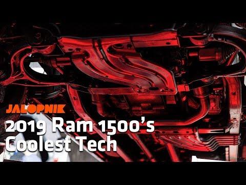 The 2019 Ram 1500's Coolest Tech | Detroit Auto Show