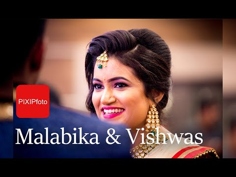 A Colourful #wedding #engagement #cinematography by #pixipfoto in Kolkata | Malabika & Capt Vishwas