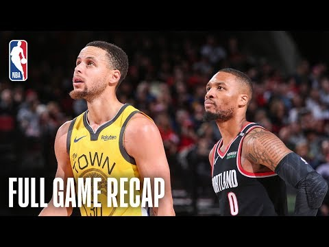 Video: WARRIORS vs TRAIL BLAZERS | POR Pulls Away In The 4th | February 13, 2019