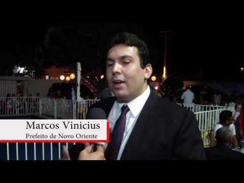 Prefeito de Novo Oriente do Piauí Dr. Marcos Vinicius Cunha Dias