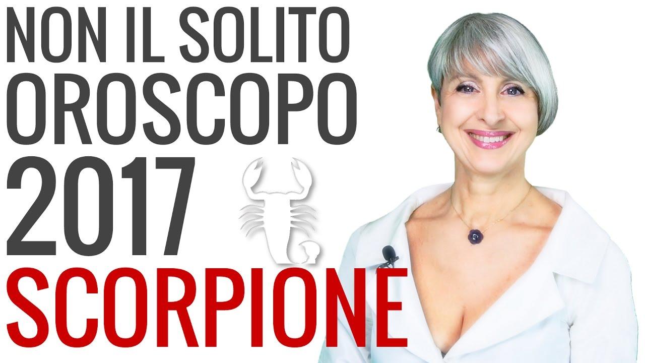 OROSCOPO 2017 ★ Scorpione
