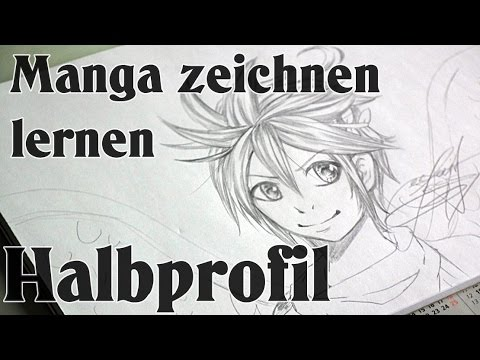 Manga zeichnen lernen [Basic] – Halbprofil