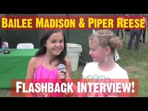 BAILEE MADISON INTERVIEW Movies & Wizards w The TWEEN PROFESSIONAL REPORTER PIPE REESE! (PQP #034)