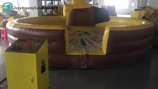 Inflatable Mechanical Bull For Party youtube video
