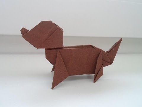 Origami dog (Ladislav Kaňka)