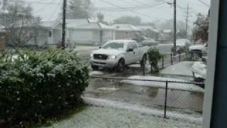 Westwego (LA) United States  city photo : Snow In Westwego, La. 121108!