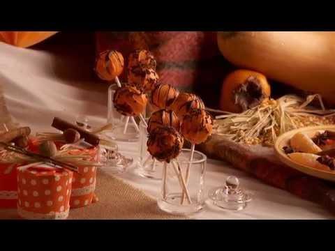 Herbstliche Halloween Cakepops