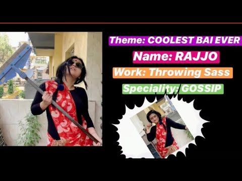 Rajjo Ki Kahani | Coolest Bai Ever| Enacted by: Yukti Arora | MTV Ace The Quarantine