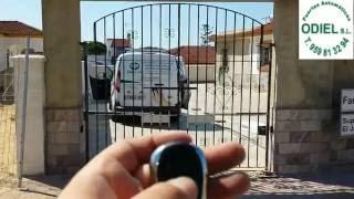 Puertas correderas fincas