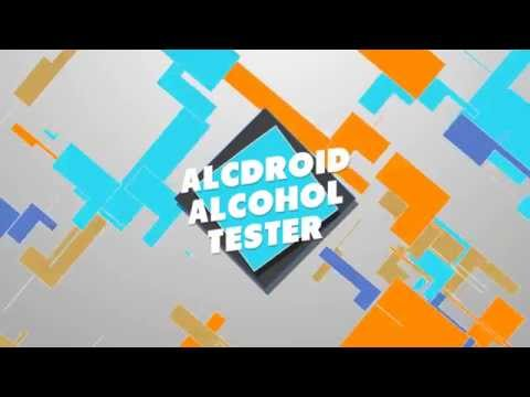 Video of AlcDroid Alcohol Tester