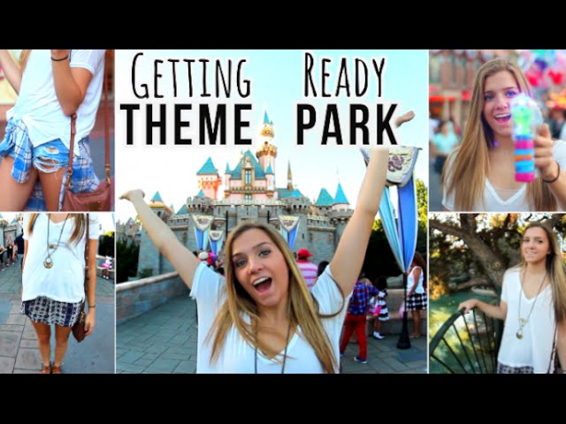 Getting Ready Theme Park Makeup Outfits | SenzoMusic.com
