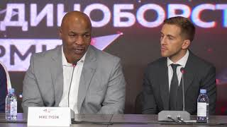 Video 'It's a toss up, I like Khabib!': Tyson rooting for Russian in UFC 229 McGregor showdown MP3, 3GP, MP4, WEBM, AVI, FLV Oktober 2018