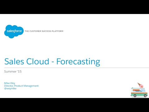 Sales Cloud - Collaborative Forecasting