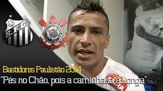 Confira tudo o que rolou fora das 4 linhas na vitória contra o Corinthians, pelo Paulistão 2014! ** Inscreva-se na Santos TV e...