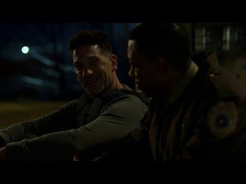Marvel's The Punisher Season 2 Frank&Sheriff ''Pete Castiglione was never here'' scene [1080p]