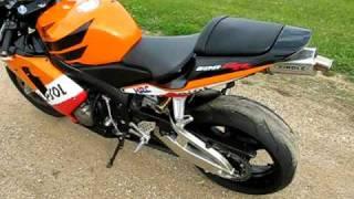 10. My 2003 Honda CBR 600 RR