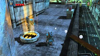 LEGO Batman 2 DC Super Heroes - All Gold Bricks In Gotham City South - City Hall&West Side