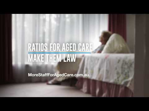 Ratios for Aged Care. Make Them Law. Now. - Gladys