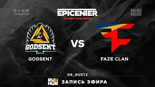 FaZe vs GODSENT, game 2