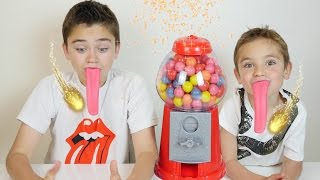 Video Machine à Bonbons Magique & Langues Géantes - Blague Gumball Machine Prank MP3, 3GP, MP4, WEBM, AVI, FLV September 2017