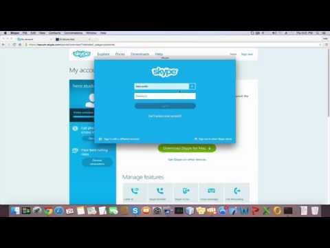 how to set up a skype account