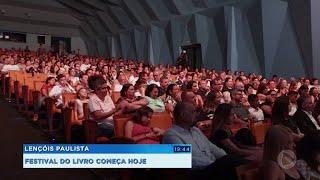 Festival de Literatura de Lençóis Paulista é realizado virtualmente