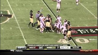Vick Ballard vs Wake Forest