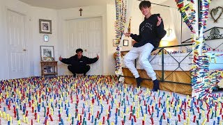 INSANE CLOTHESPIN PRANK IN PARENTS ROOM!