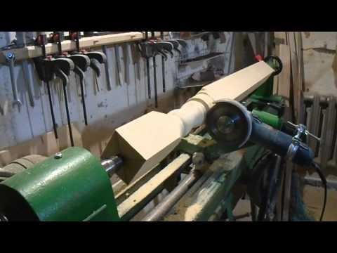 Изготовления балясин своими руками
