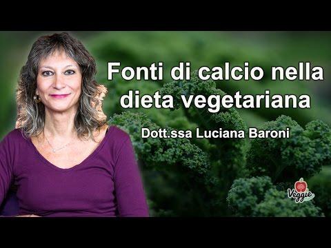 quali sono le fonti di calcio nella dieta vegetariana?