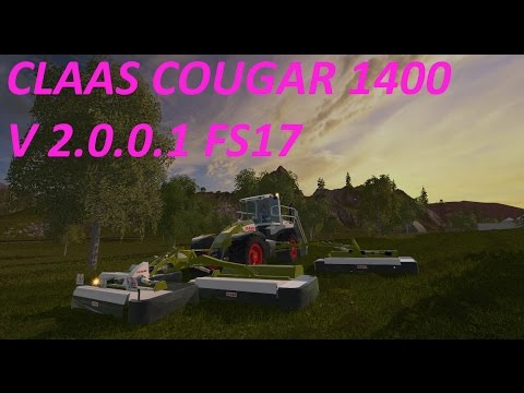 Claas Cougar 1400 v1.0.0
