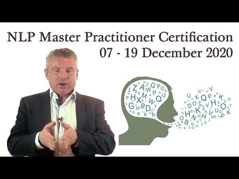 NLP Master Practitioner Certification 07 - 19 December 2020 (London)