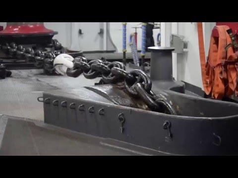 Anchor Drop Test U.S.S. Boxer