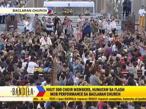 baclaran - Higit 300 choir members, nag-flash mob performance sa Baclaran Church. Justin Timberlake, balik-big screen kasama si Ben Affleck.