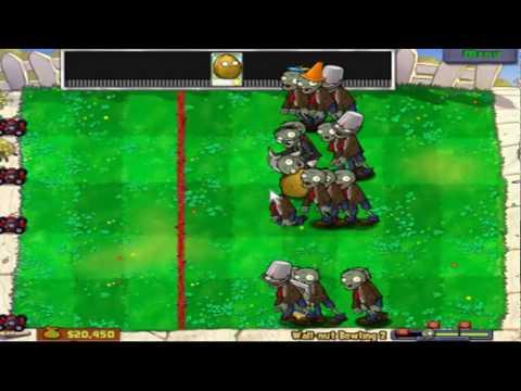 Plants Vs. Zombies - Column Like You See 'Em Minigame - High Quality