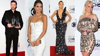 Britney Spears, Justin Timberlake, Heidi Klum, Jessica Alba Look Hot At People's Choice Awards 2014