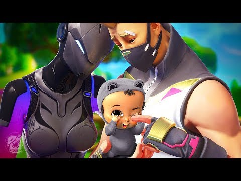 LYNX AND DRIFT HAVE A BABY! *SEASON 7* - A Fortnite Short Film