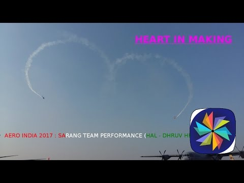 The Indian Air Force aerobatic...