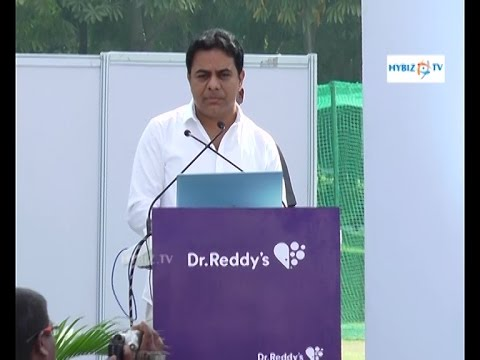IT Minister KTR-Dr. Reddys Redibike Bicycle