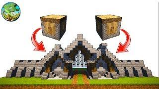 Minecraft Tutorial: Transform Village House into GateHouse