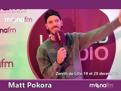 Matt Pokora sur Mona FM